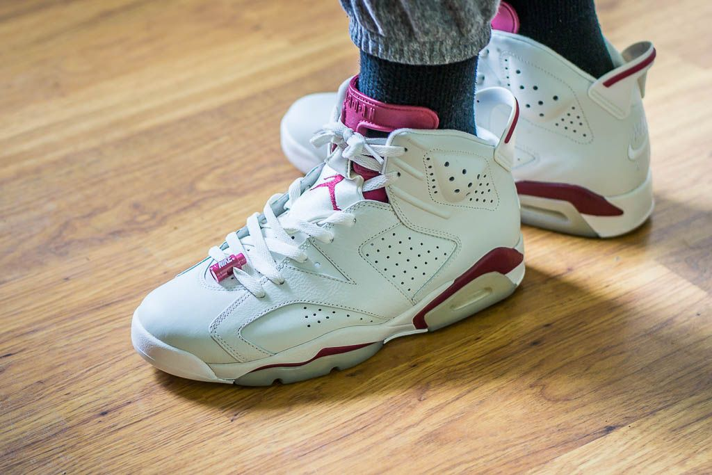 See how the Air Jordan 6 Maroon looks on feet in this video review before  you cop! Find out where to buy these Air Jordan 6s online! aa3e9c052