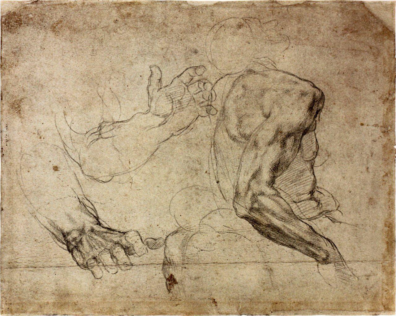 картинки рисунки руки микеланджело состав виде