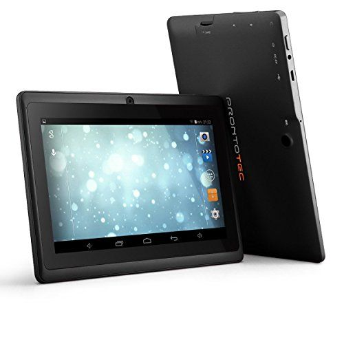 Prontotec Axius Series Q9s 7 Inch Quad Core Android 4 4 Kitkat Tablet Pc 1024 X 600 Pixels Cortex A8 Processor 8gb Rom Dual Tablet Computer Accessories Quad