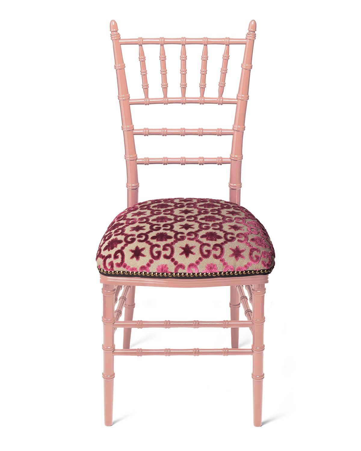 gucci dining chairs on gucci chiavari beechwood gg jacquard chair pink made to order luxury chairs chiavari chairs chair pinterest