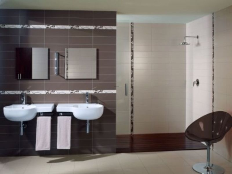 modern bathroom tile designs modern bathroom tiles design ideas - Modern Bathroom Wall Tile Designs