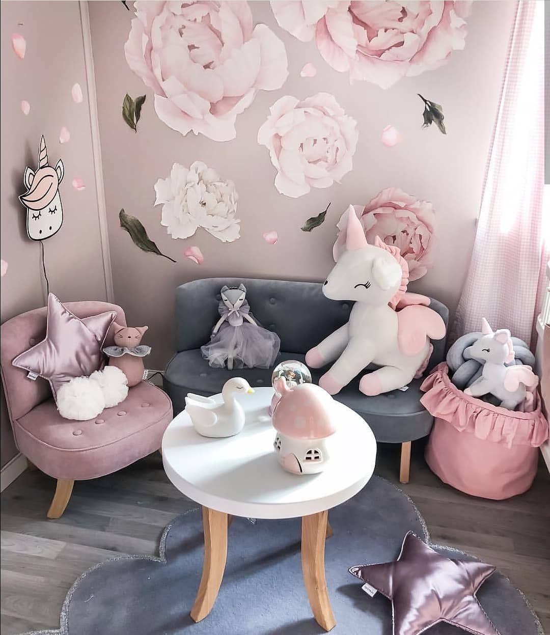 Opening Up The Attic A Two Tier Bedroom Tour In Moscow Girl Room Baby Room Decor Kid Room Decor