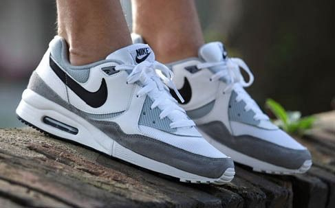 premium selection 05e78 539b2 NIKE AIR MAX LIGHT ESSENTIAL – BLACK   LIGHT MAGNET GREY