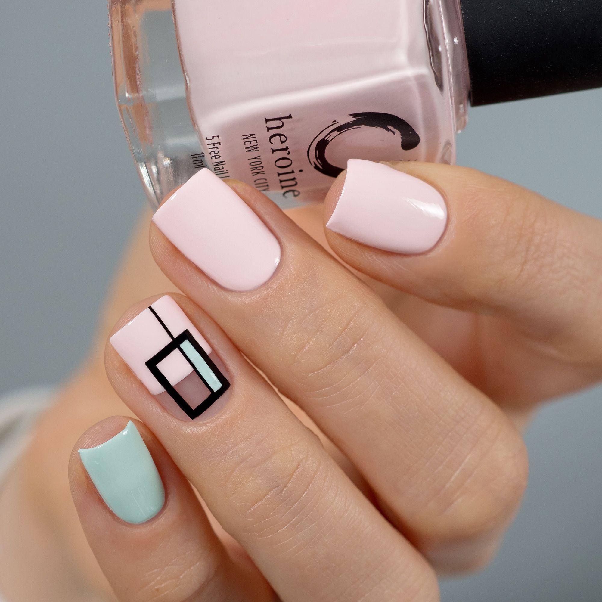 Vegan Cruelty Free Nail Art By Heroine Nyc In 2020 Cute Acrylic Nails Nail Polish Swag Nails