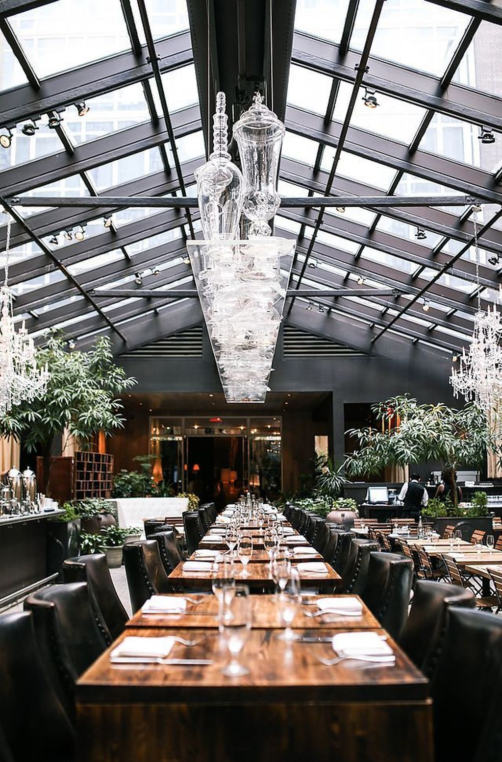 40+ Glass Ceiling Design and Ideas - The ceiling doesn't ...