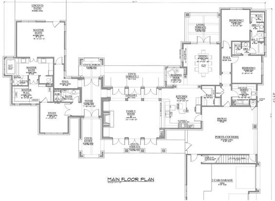 Jack Arnold House Plans Google Search French House Plans Dream House Plans House Plans