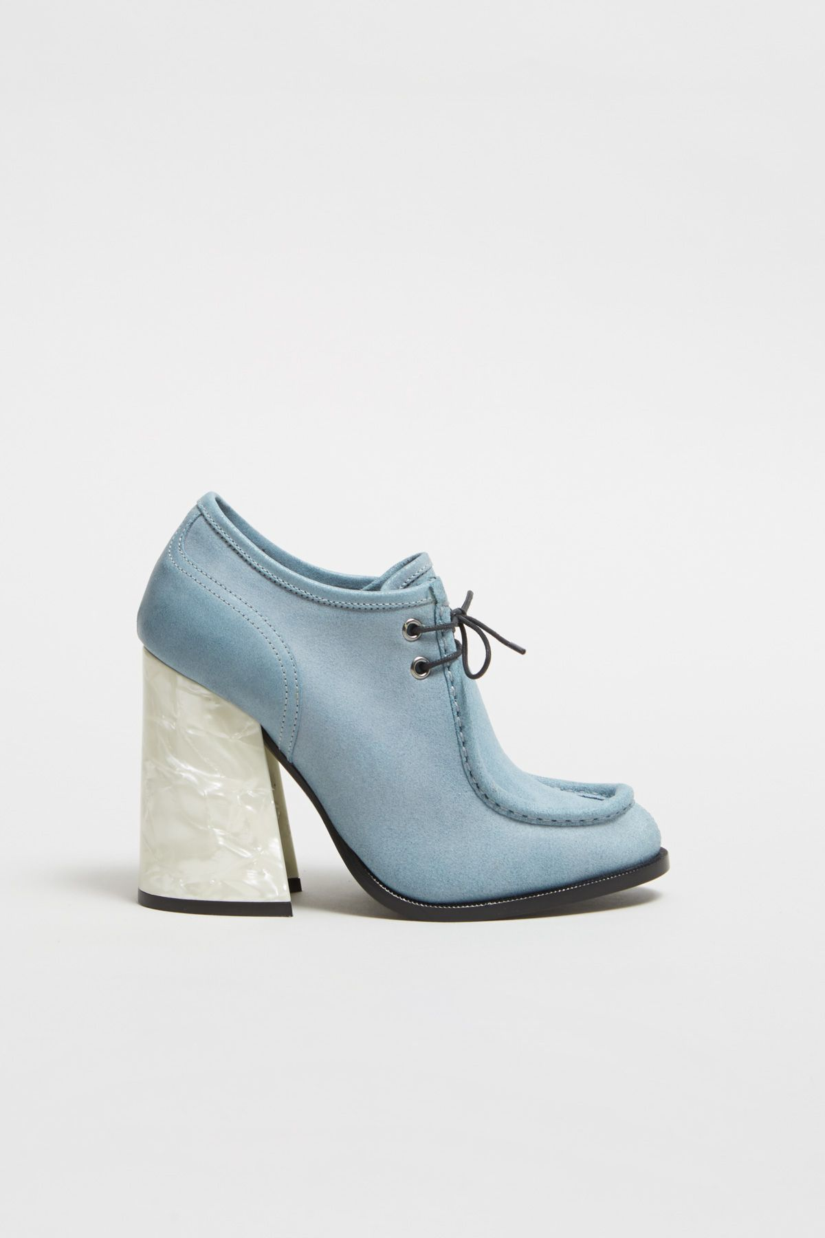 JW Anderson Blue Suede Mother Sneakers 8O0pexG