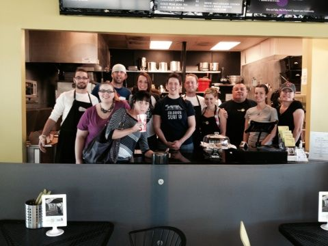 The MH crew donated their time to Pay It Forward at Cafe 180 in Englewood, helping others have a great meal. http://www.cafe-180.org/our-way/