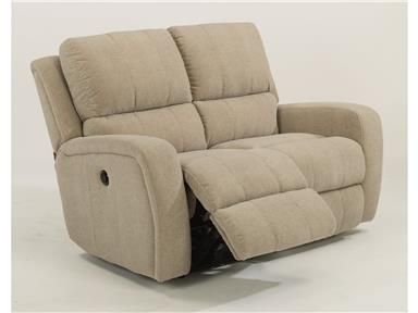 Brilliant Shop For Flexsteel Fabric Power Reclining Loveseat 1156 60P Andrewgaddart Wooden Chair Designs For Living Room Andrewgaddartcom