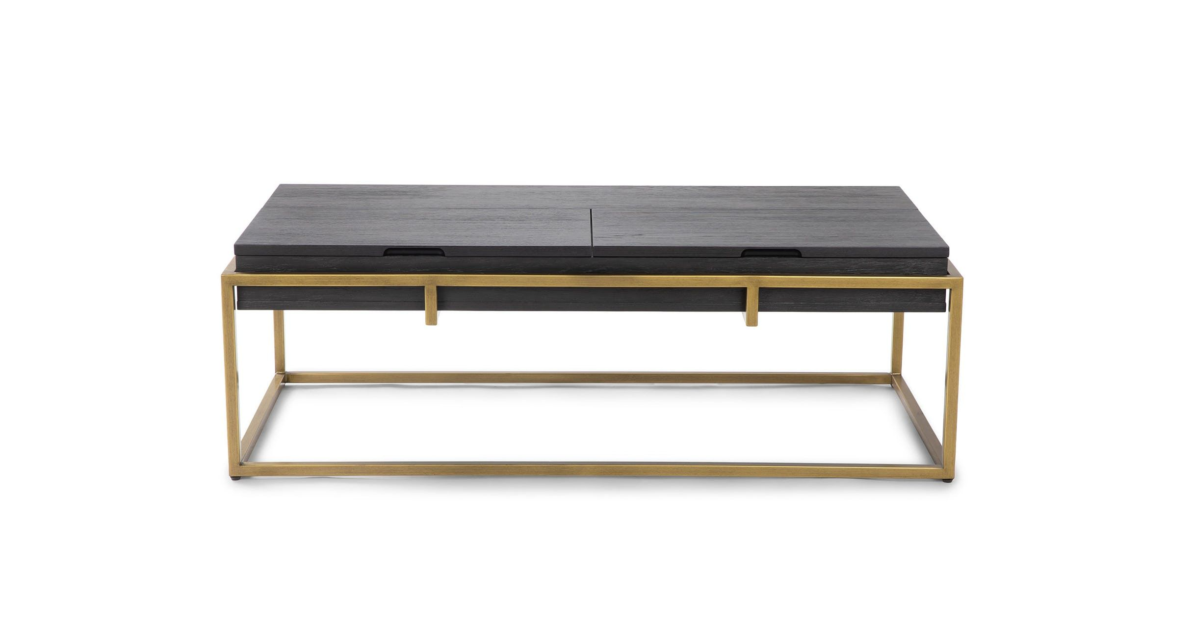 Oscuro Black Storage Coffee Table Coffee Tables Article Modern Mid Century And Sc Mid Century Modern Coffee Table Coffee Table Coffee Table With Storage [ 1262 x 2432 Pixel ]