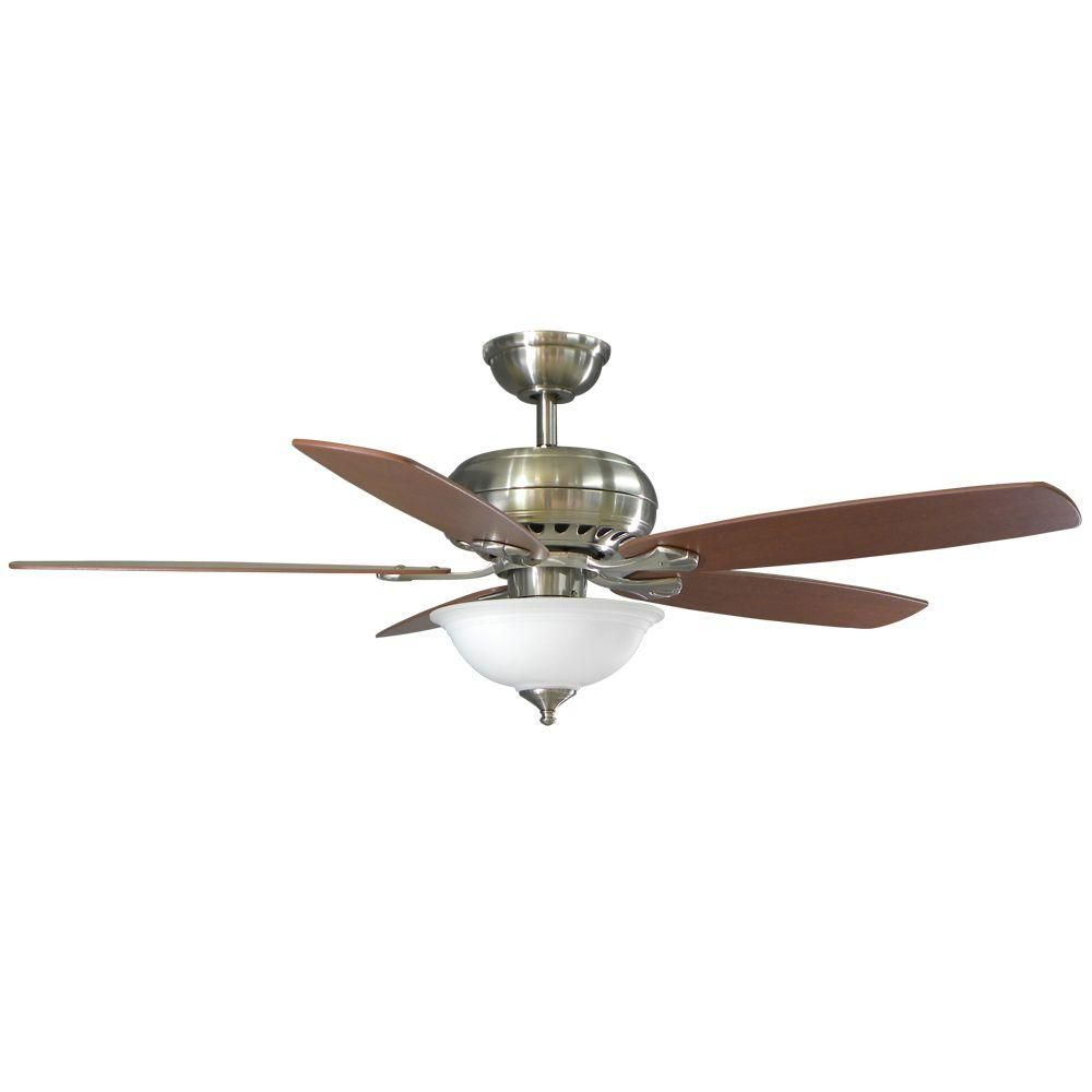 6292 Living Room Hampton Bay Southwind 52 In Brushed Nickel Ceiling Fan 52379