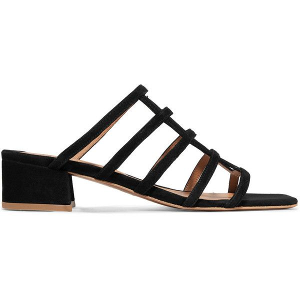 By Far Grid Sand Suede Sandals Looking For Sale Online 2018 New s9Vm6BFXUT