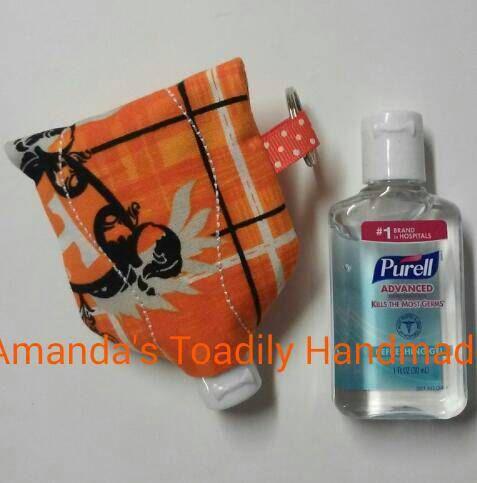 Free Embroidery Design Tiny Camper Hand Sanitizer Holder Hand