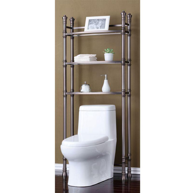 Bathroom space saver shelving units | pinterdor | Pinterest | Space ...