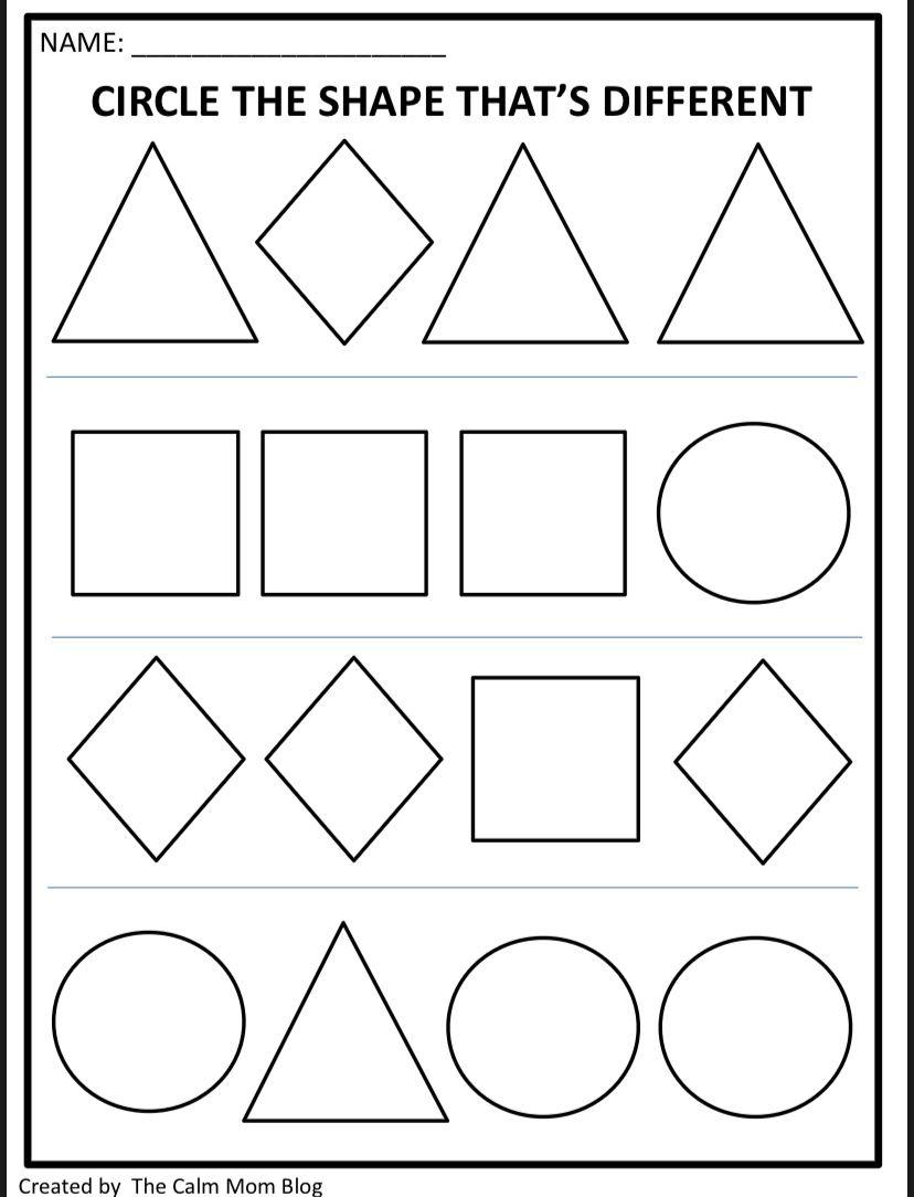 Toddler Preschool Worksheets In 2020 Free Worksheets For Kids Kids Worksheets Printables Worksheets For Kids