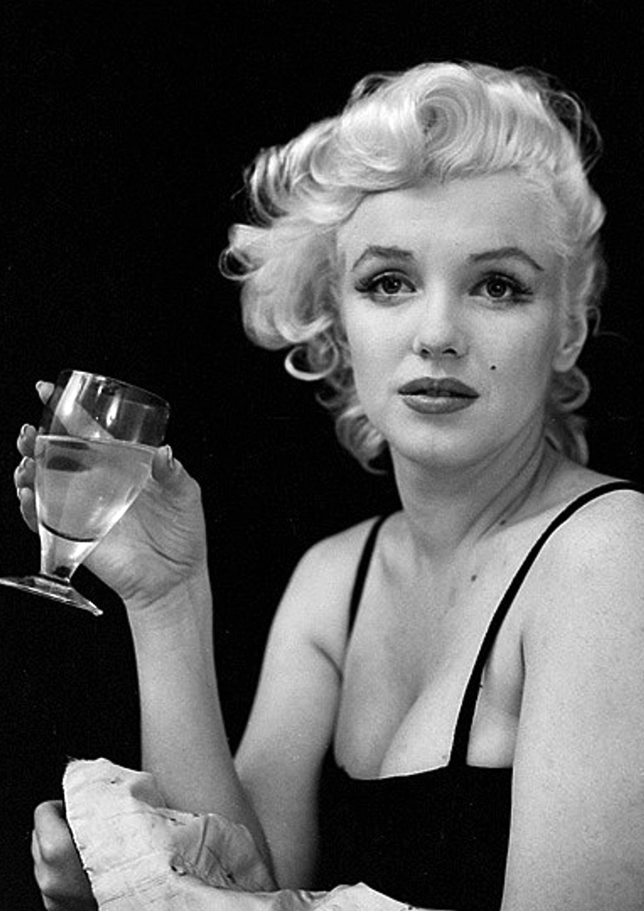 Marilyn Monroe Monochrome Photographic Print 72 (A4 Size - 210mm x ...