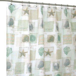 Seaside Shower Curtain Designer Shower Curtains Curtains Beach