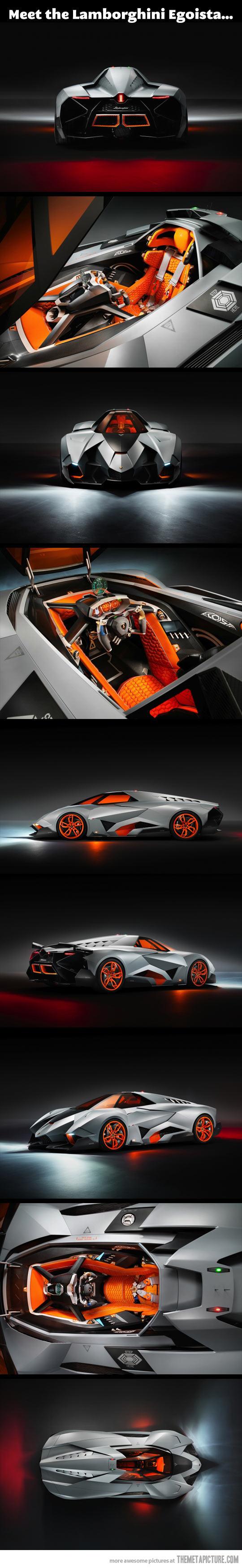 Forget The Batmobile I Want The Lamborghini Egoista For The Road