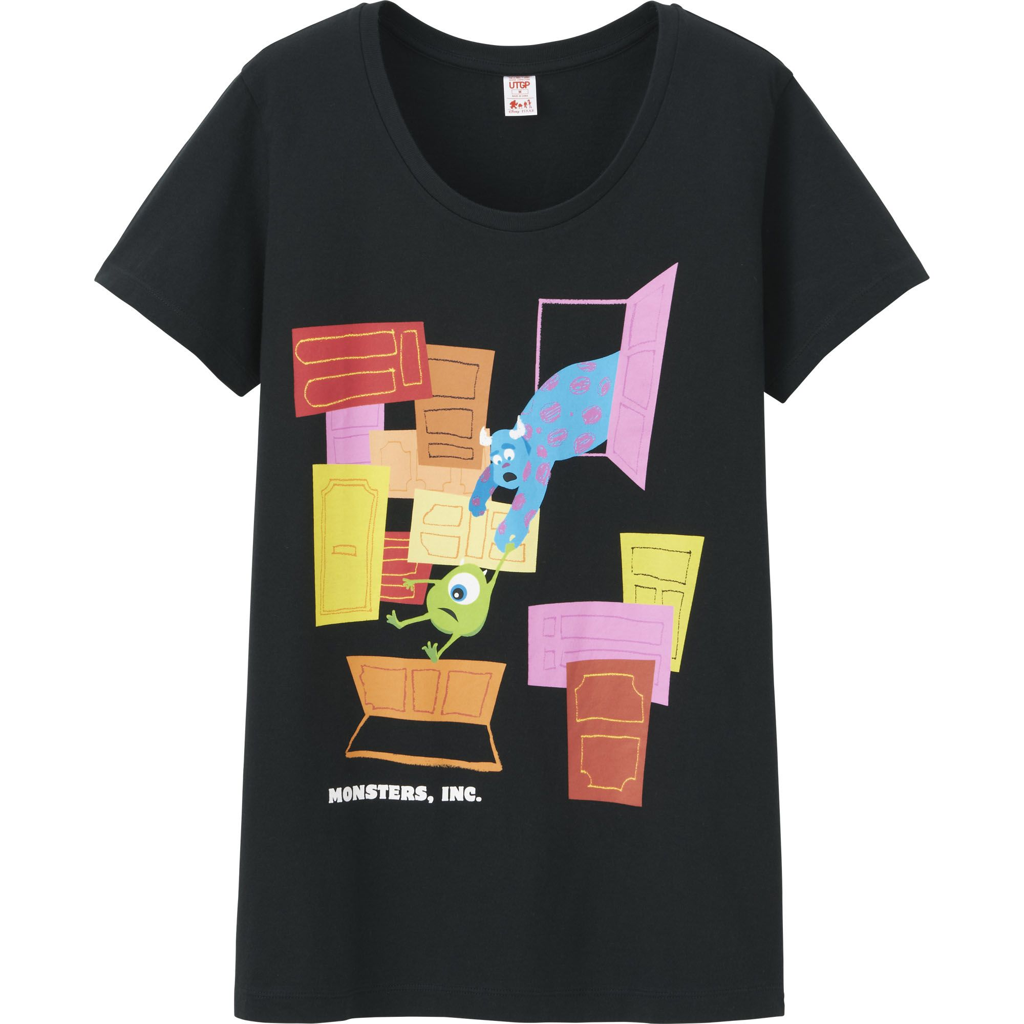 e0fa8b8a Disney Pixar Partners with UNIQLO for Global T-Shirt Design Competition