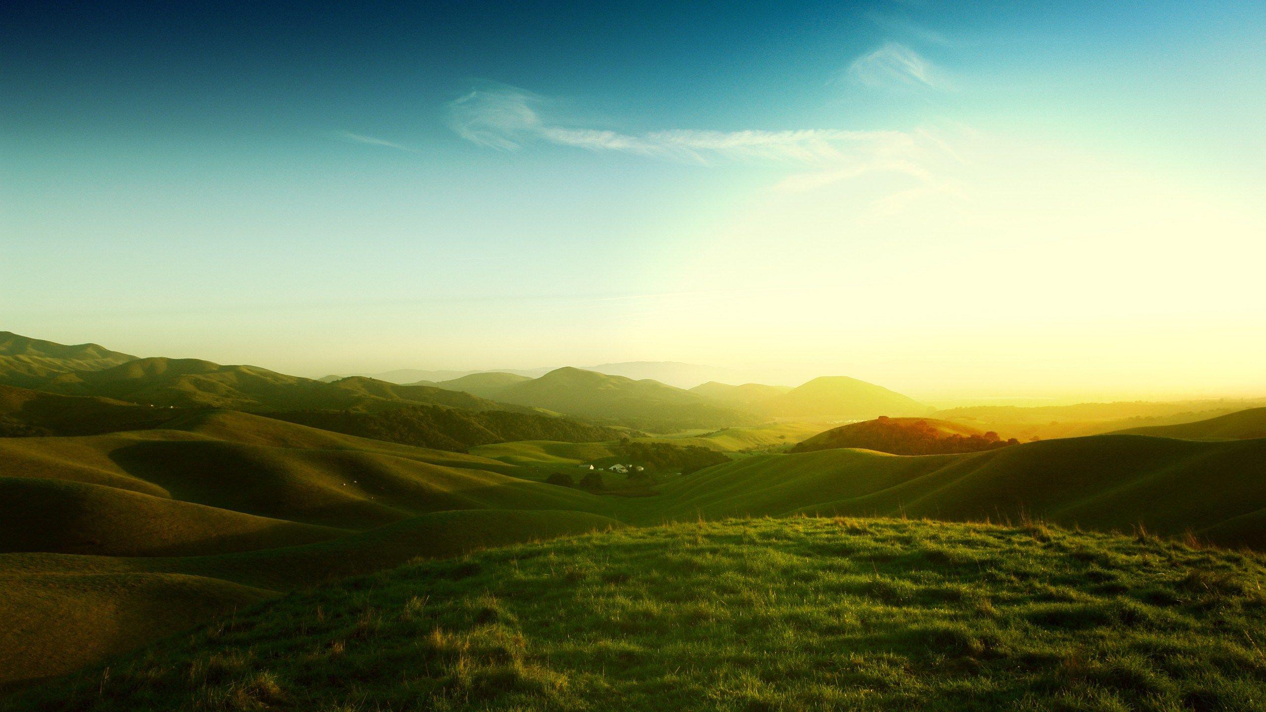 2560x1440 Free Download Landscape Summer Landscape Landscape Wallpaper Scenery