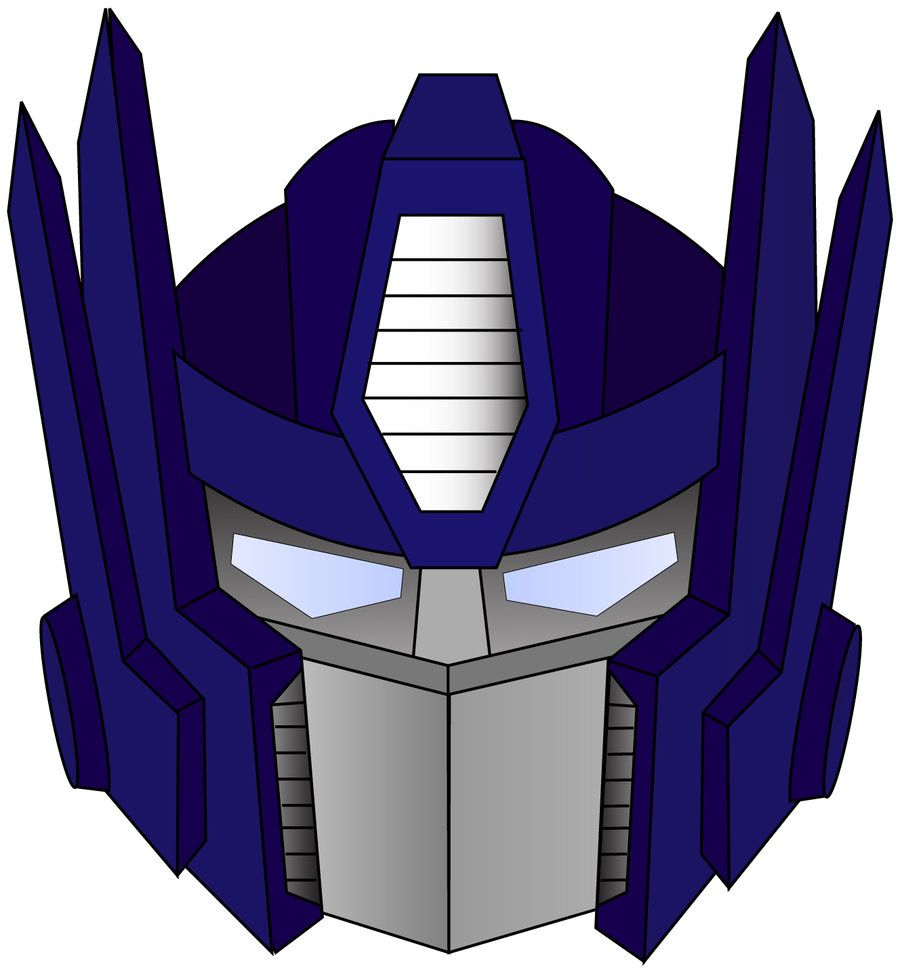 optimus prime face cartoon google search for h 39 s cake