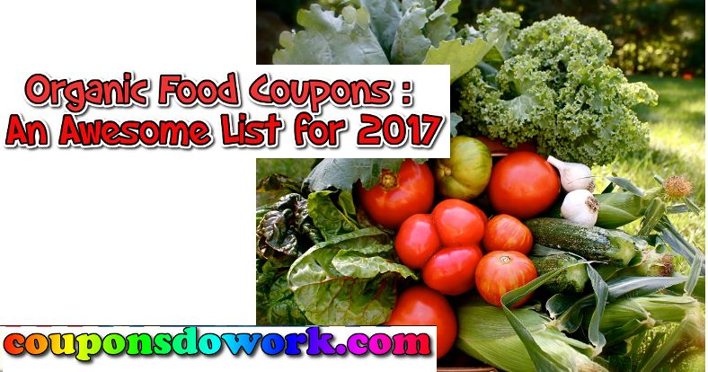 Organic food coupons an awesome list for 2017 organic coupons organic food coupons an awesome list for 2017 forumfinder Images