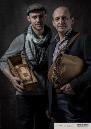 Portraits Hubert et Jean-marie Chanove, le refuge des gourmets 1* http://www.lagenceemulsion.fr/