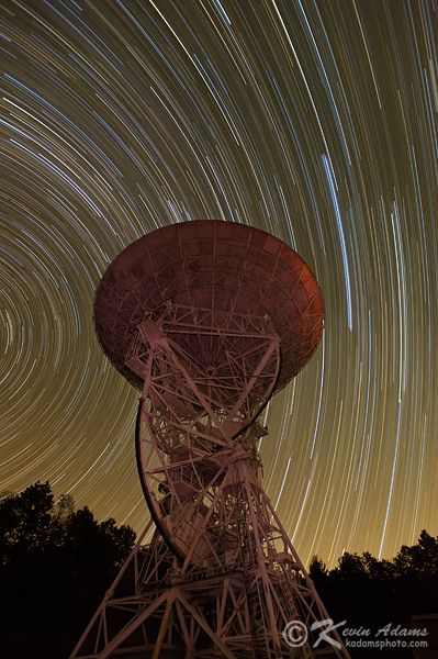 Shooting Star Trails by Kevin Adams