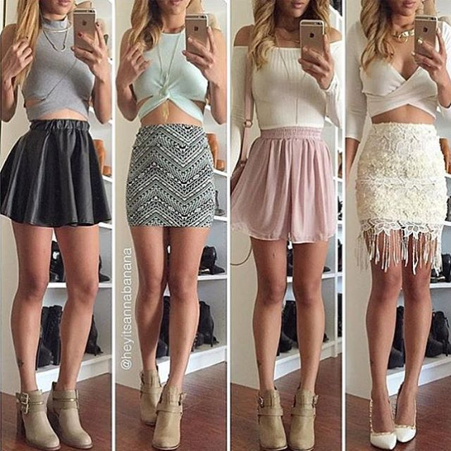 Instagram Fashion Girls: 1, 2, 3 OR 4!? #Dress Tag Your Friends!