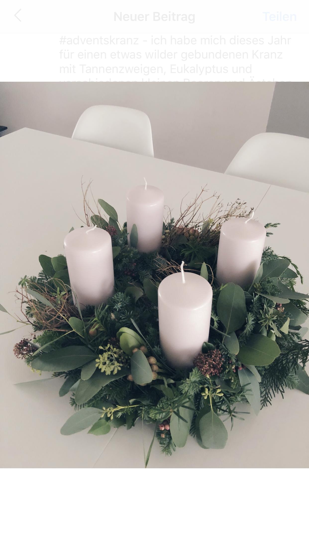 Adventskranz Tannenzweige Eukalyptus Simple Beautiful Altrosa Advent Weihnachten Deko Weihnachten Adventskranz Weihnachten Dekoration Und Adventskranz Selber Basteln