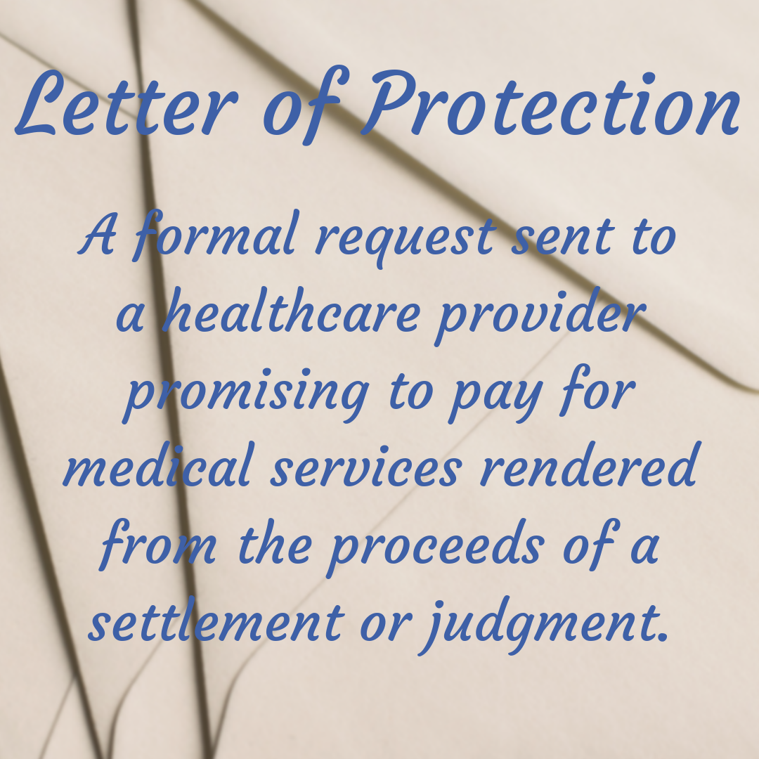 Word Of The Week Letter Of Protection In Many Cases Medical