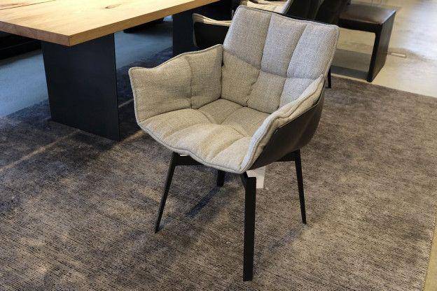 stuhl husk von b b italia bezug stoff grau sofas. Black Bedroom Furniture Sets. Home Design Ideas