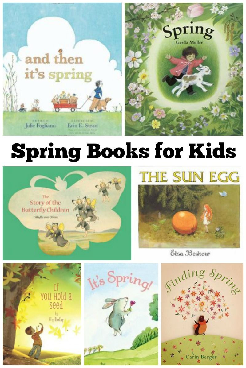 Teach your children about seasonal changes with these magical spring books for kids!
