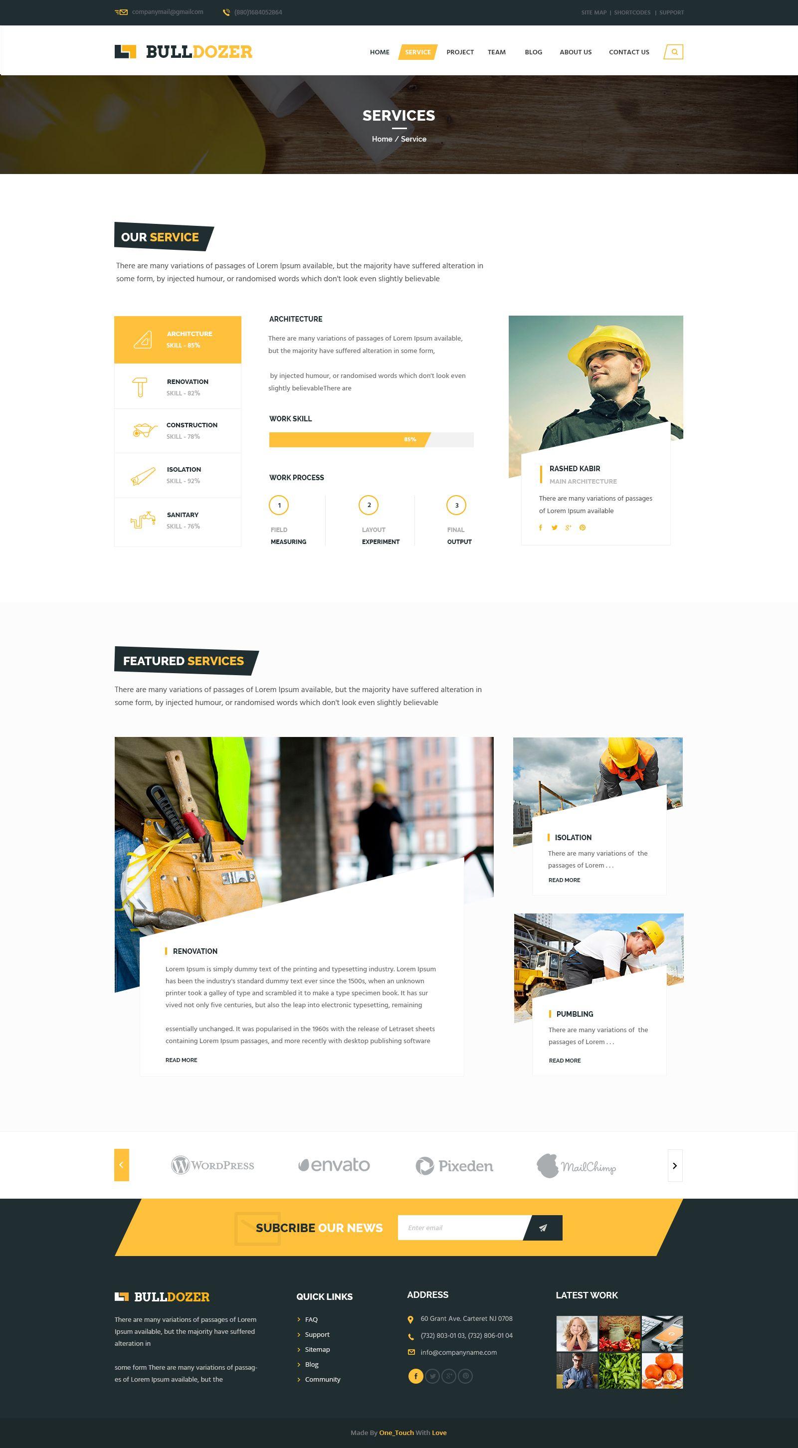 03 Service Web Development Design Website Design Wordpress Homepage Design