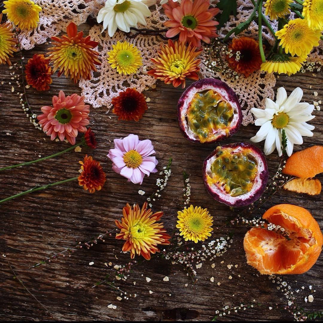 Passion passionfruit chrysanthemums makelightbeautify
