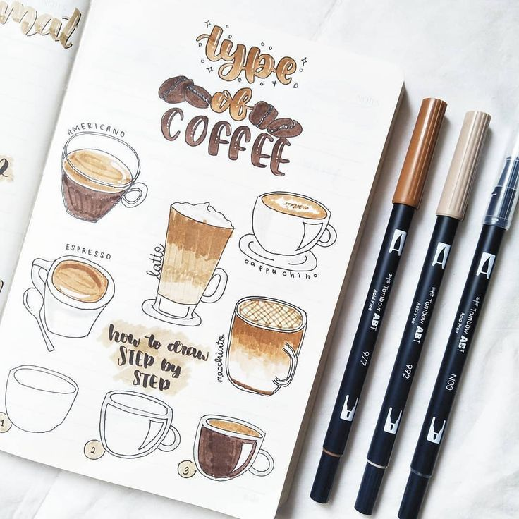 200+ Doodle Ideas To Try In Your Bullet Journal - TheFab20s
