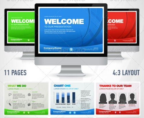 Simpleway Business Powerpoint Presentation Templates  Powerpoint