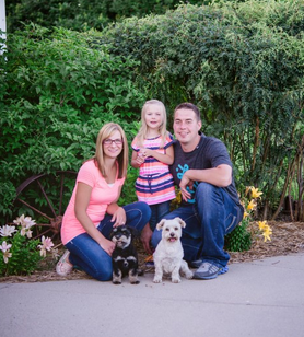 Parentfinder Travis and Shannon are hoping to adopt a