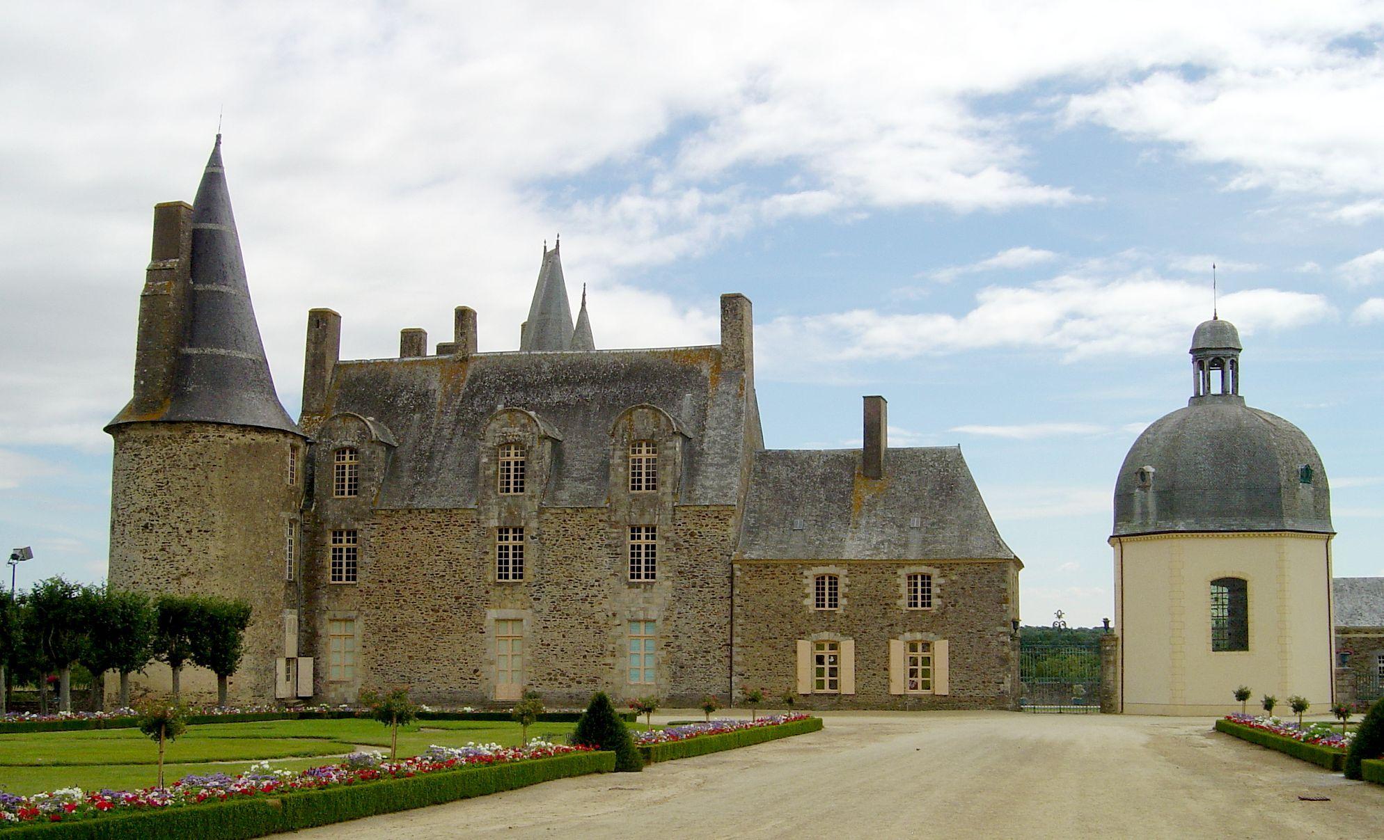 Vitre Ille Et Vilaine Chateau Des Rochers Sevigne Xi Xviieme