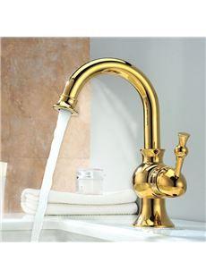 New Arrival Hot Selling Gold Bathroom Sink Faucet Bathroom Sink
