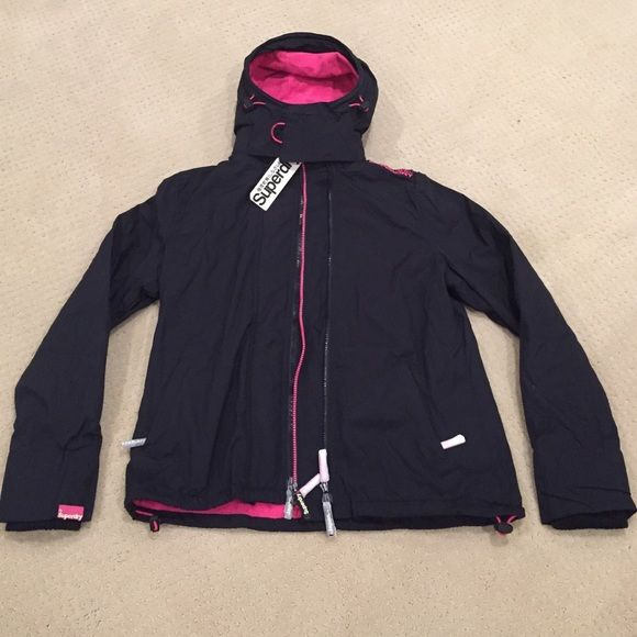 new product 0238d 084c1 Superdry Japan jacket New✨ Brand new black and pink arctic ...