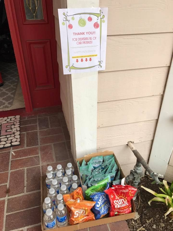 Delivery driver snacks a must socal online shoppers say