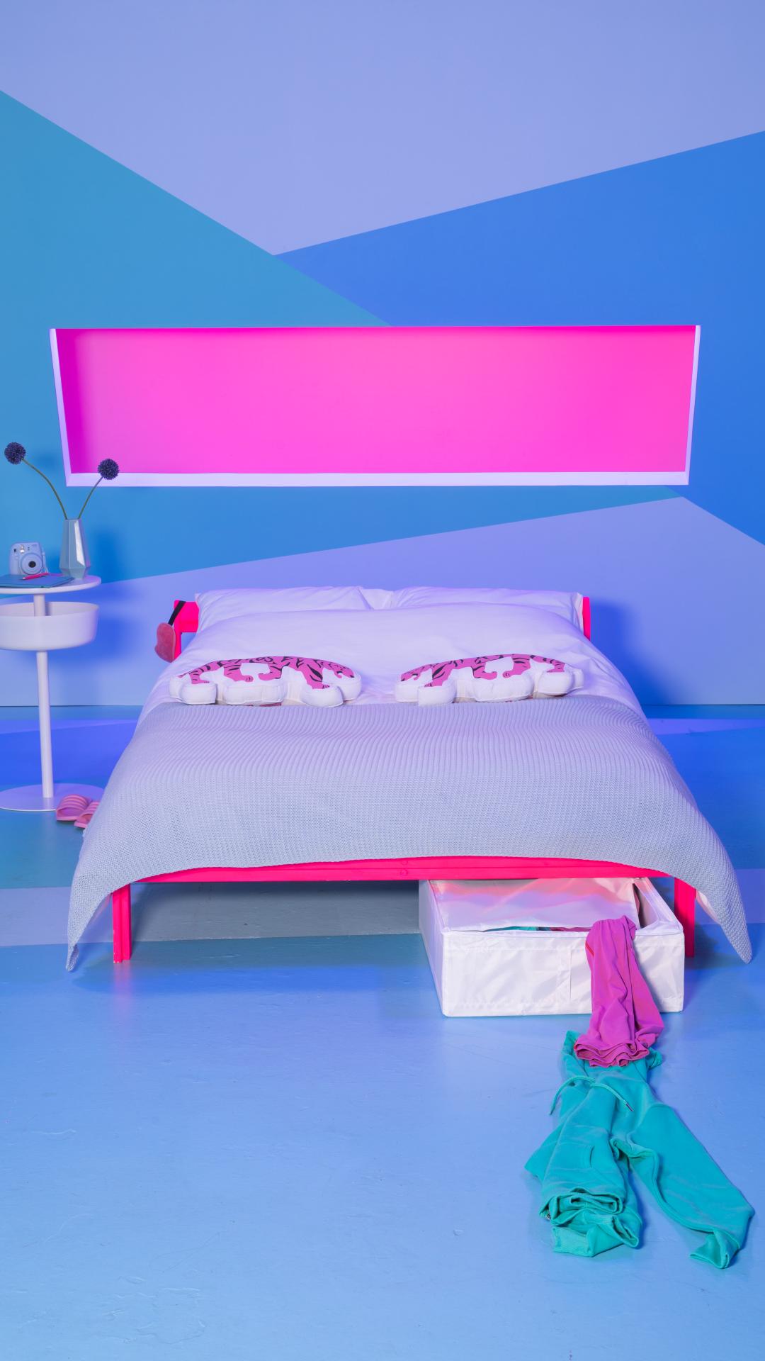 Neiden Bedframe Grenen 140x200 Cm Ikea Kind Slaapkamers Bedframe Ikea Bed