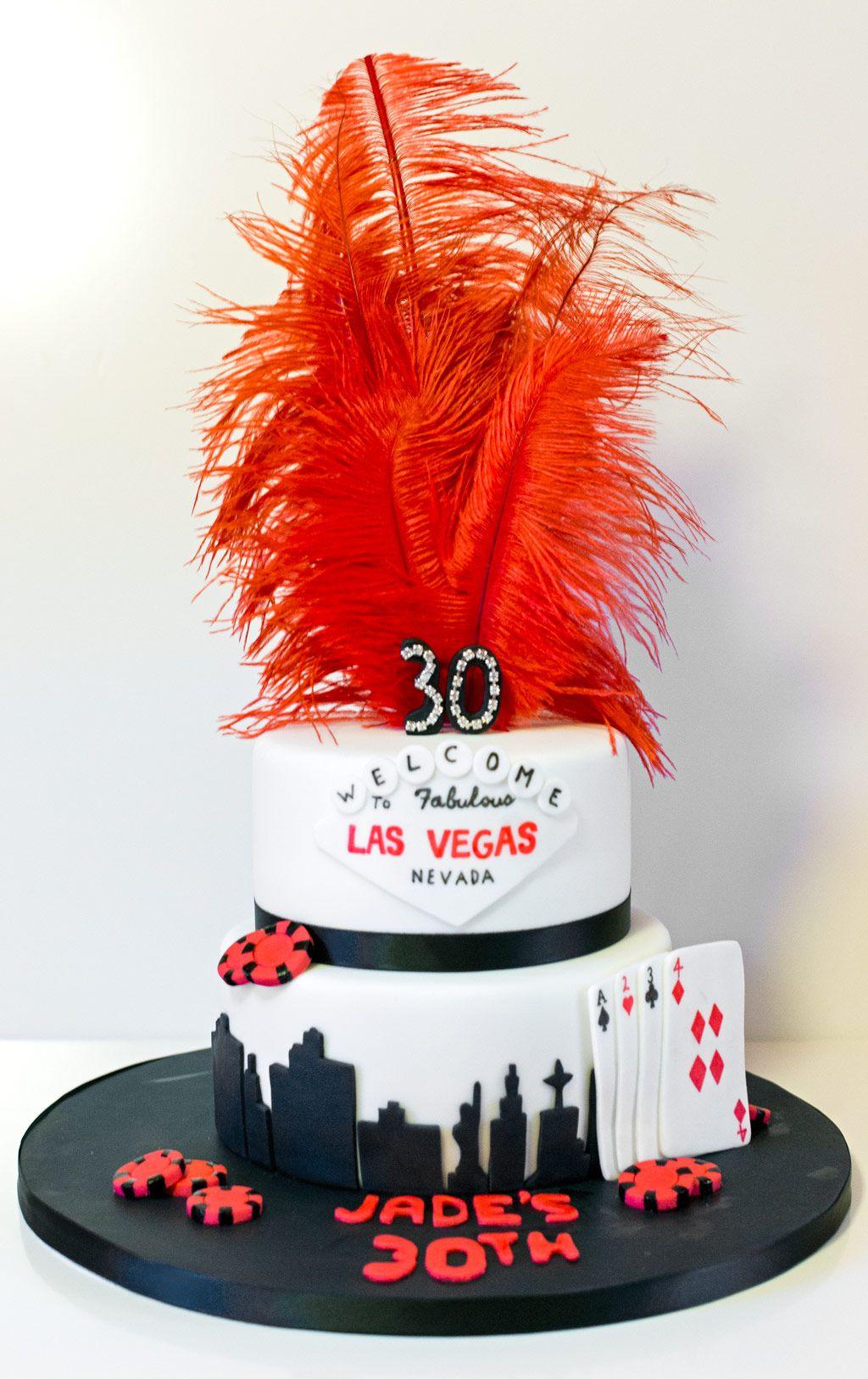 Las vegas 30th birthday cake vegas cake las vegas cake