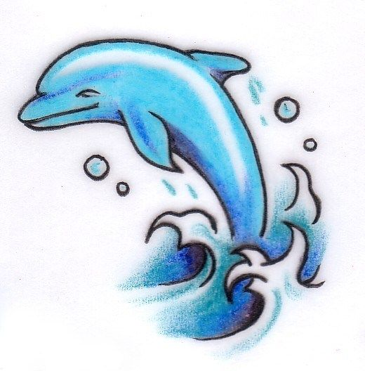 Dolphin Henna Tattoo: 35+ Awesome Dolphin Tattoo Designs