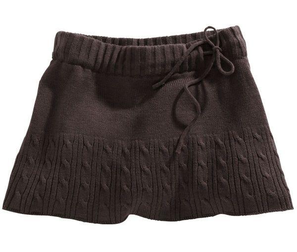 Falda punto | Punto / Knitting | Pinterest | Falda, Puntos y ...