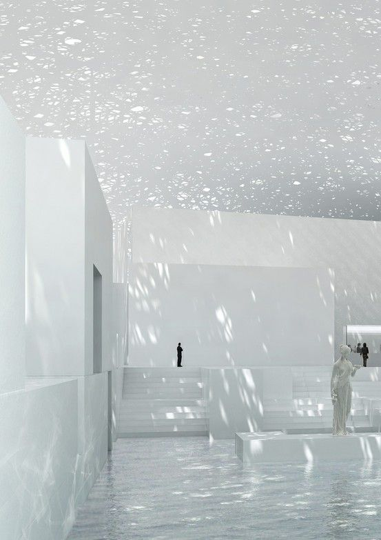 :: DETAILS :: i have always loved this space... the use of light to provide texture to a volume #details by maude