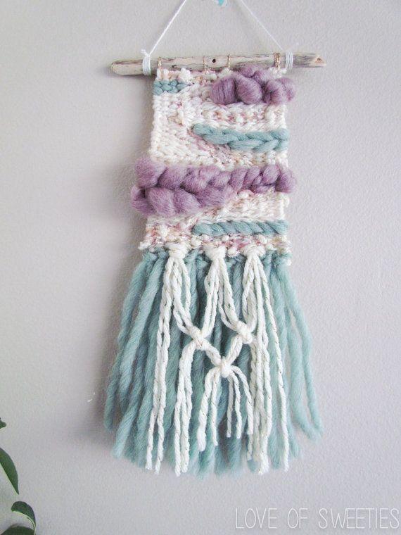 Woven Wall Hanging  Weave  Wall Art  Mermaid