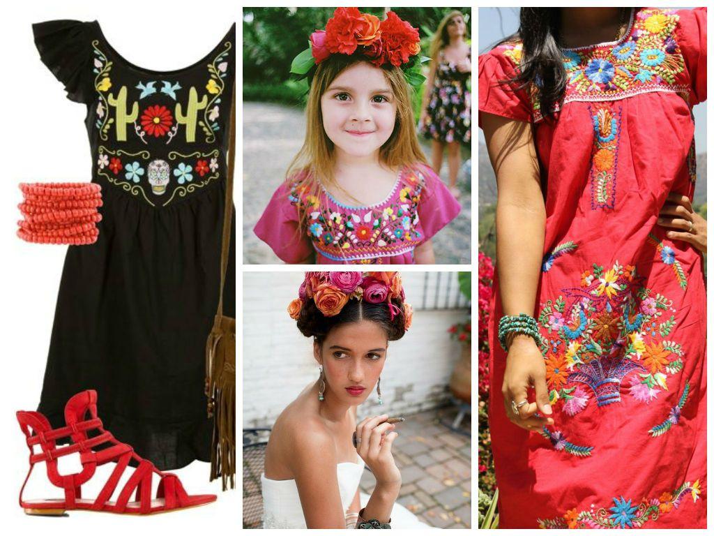 Ideas Para Una Fiesta Mexicana Vestimenta Mexicana