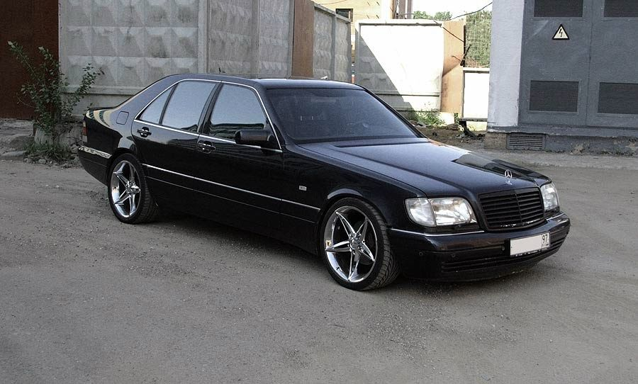 Mercedes Benz W140 S600 Black With Images Mercedes Benz